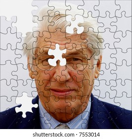 Jigsaw businessman incomplete can you offer the missing pieces?