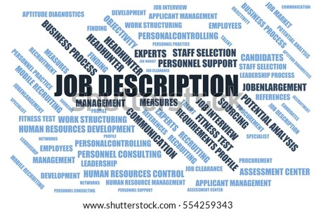 job description word cloud wordcloud termsのイラスト素材 554259343
