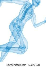 jogger - x-ray