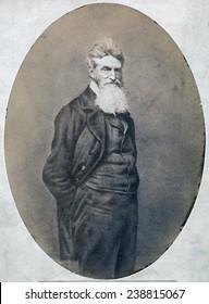 John Brown. Portrait May 1859