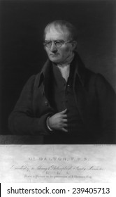 John Dalton (1766-1844), English chemist developed the atomic theory, that is the basis of modern chemistry.