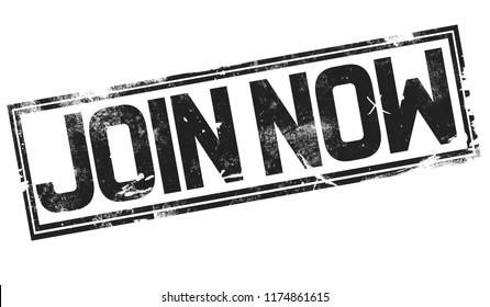 Join Us Label Stock Illustration 134200052 - Shutterstock