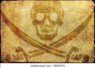 Jolly Rodger Pirate themed background