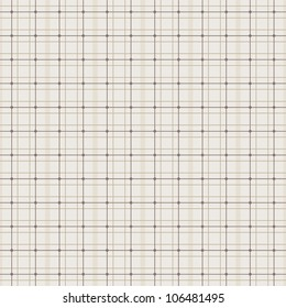 JPEG seamless retro plaid background pattern in beige and cream. See my portfolio for other colors and for vector version of this plaid - Set of 4 Vector Plaids in Neutral Colors.