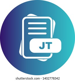 JT File Format Icon  For Your Project