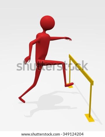 Jump Over A Hurdle