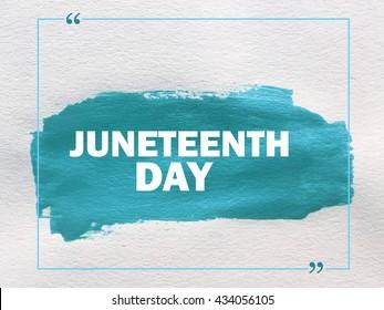 Juneteenth day