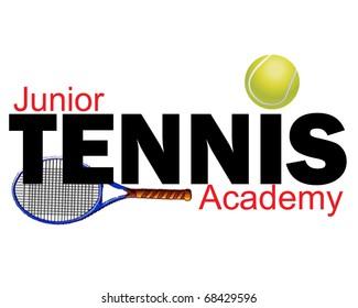 Junior Tennis Academy graphic