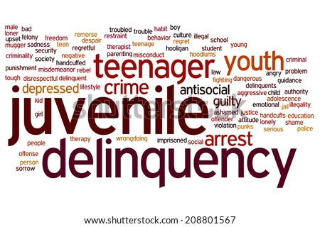 another word for juvenile delinquent