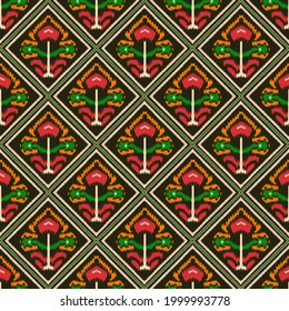 Kalamkari and Patola digital design patterns, Traditional digital designs