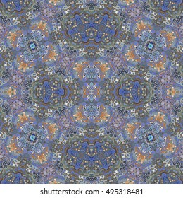 Kaleidoscopic Colorful Dots Background