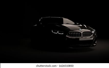 Bmw Dark Light Images Stock Photos Vectors Shutterstock