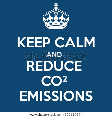 Keep Calm and Reduce CO2 Emissions
