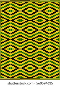Kente cloth: conflict and resolution