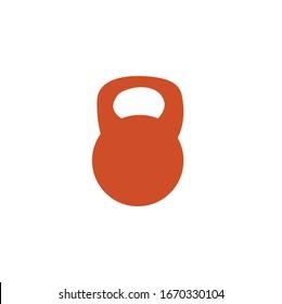 Kettle bell Icon design very creative design