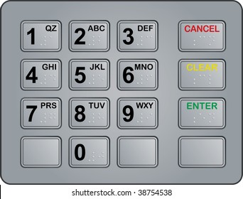 Atm Keypad Images, Stock Photos & Vectors | Shutterstock