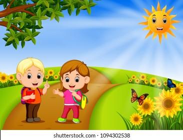 Sunny Cartoon Images, Stock Photos & Vectors   Shutterstock