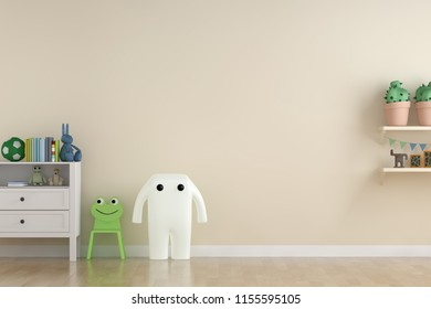 kids room interior. 3d rendering, 3d illustration