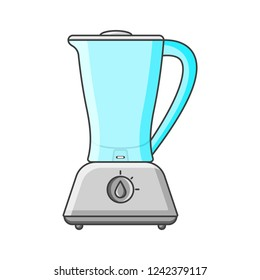 Kitchen blender icon. illustration on white background