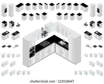 Isometric Room Images, Stock Photos & Vectors | Shutterstock