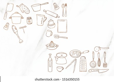 kitchen Wall Mix elements For Kitchen Tile. wall tiles for kitchen interior. good looking ceramic material. tea pot and cup with coffee.