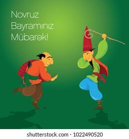 Kosa, Kechel, Novruz, Characters,  Bayram, Navruz, Bayrami, Nevruz, Navruz,  Bahar, Semeni