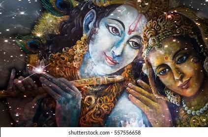 Radha Krishna Images, Stock Photos & Vectors | Shutterstock