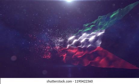 Kuwait flag for animation