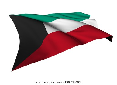 Kuwait flag - collection no_5