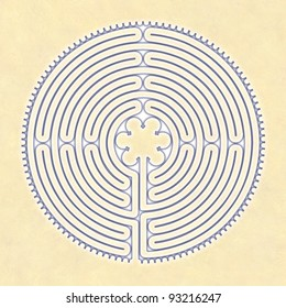 Labyrinth Peace Chartres