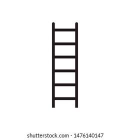 ladder safety Icon Flat Illustration