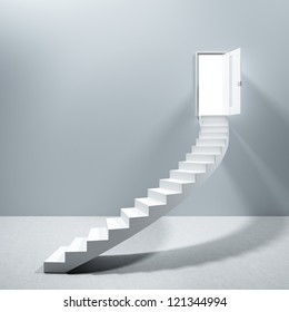 Ladder Stairs Heaven Door