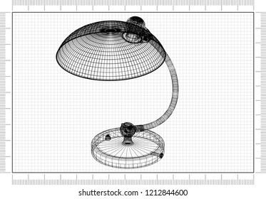 Lamp design blueprint