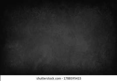 Large black marbled texture background with grunge in old vintage design, high res and large size background