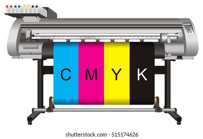 large format ink jet printer