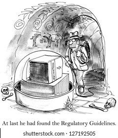 At last he had found the Regulatory Guidelines.
