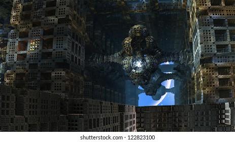 The Last Tenant in Abandoned Alien City