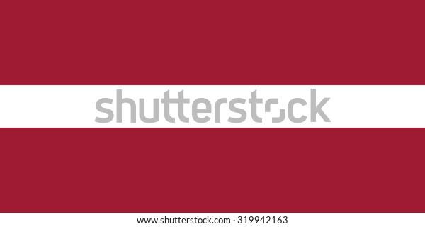Latvia national flag