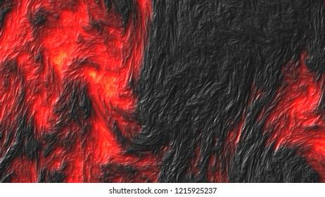 Lava flow texture background.