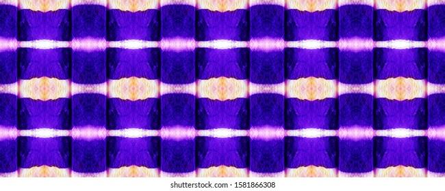 Lavender Effect Pattern. Stripe Repeat. Purple Striped Repeat. Mulberry Design Ornament. Shibori Pattern. Violet Boho Fashion. Fuchsia Abstract Dye Art. Amethyst Bleach Dye Wash.
