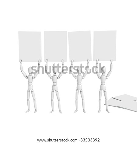 Royalty Free Stock Illustration of Lay Figures Doll By Wood