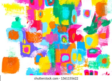 Layers of paint with stunning texture