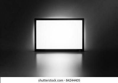 LCD monitor presentation screen