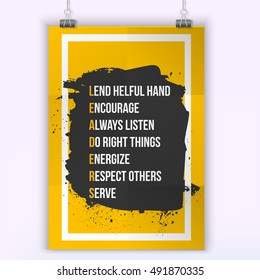 leadership quotes images stock photos vectors shutterstock