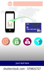 Leaflet mobile banking