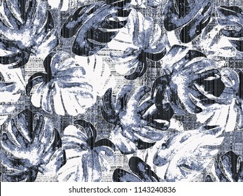 leafs vintage effect and small motifs included , check effect background modern pattern for carpet, rug, scarf, clipboard , shawl, pattern, fabric, wallpaper, tile, wrapping, covers and carpet.