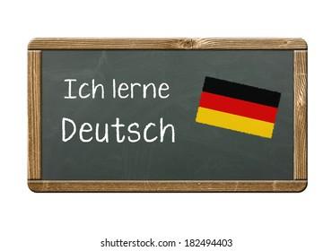 I learn German