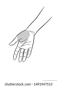 Learn to massage to feel good your hand and relax.