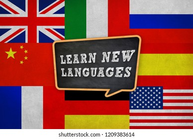 Learn new different languages