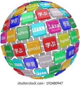 Learn word translated different languages world diverse cultures dialects